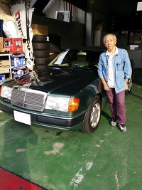 1993y M.BENZ 320CE カブリオレ